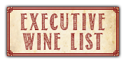 Executive Wine List available at Chair Five Restaurant