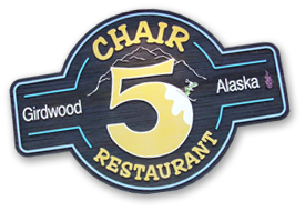 Chair Five Restaurant in Girdwood